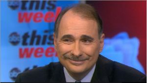 David Axelrod made his party's case on This Week with Christiane Amanpour