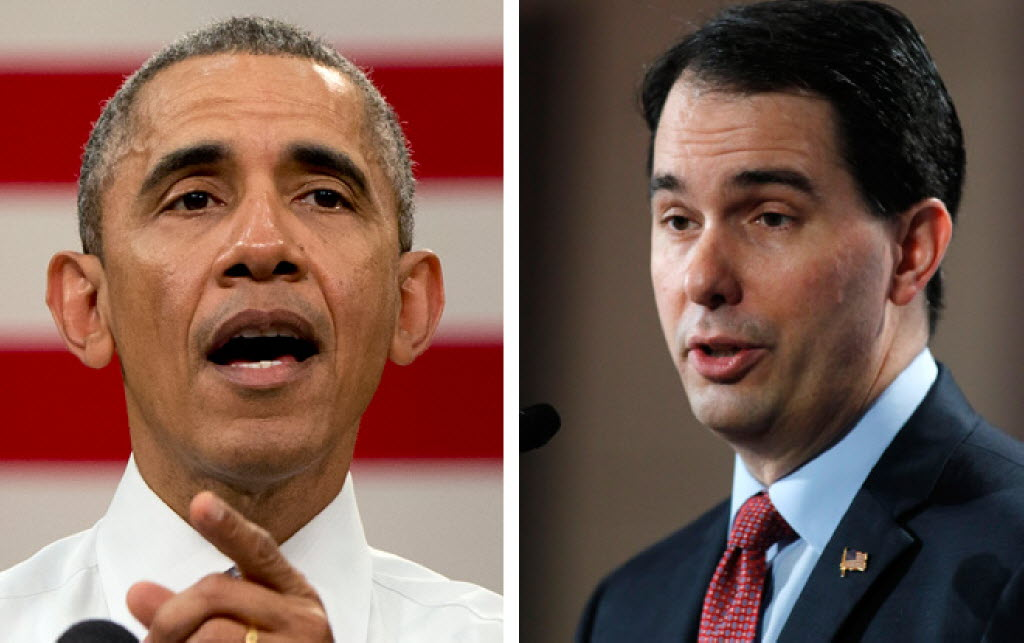 President Barack Obama and Gov. Scott Walker both made claims that we've rated True.