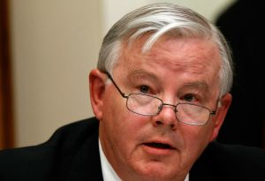 Rep. Joe Barton questions BP CEO Tony Hayward during a Congressional hearing on June 17, 2010