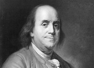 "Benjamin Franklin wrote many memorable lines in ""Poor Richard's Almanack."" (File photo)"