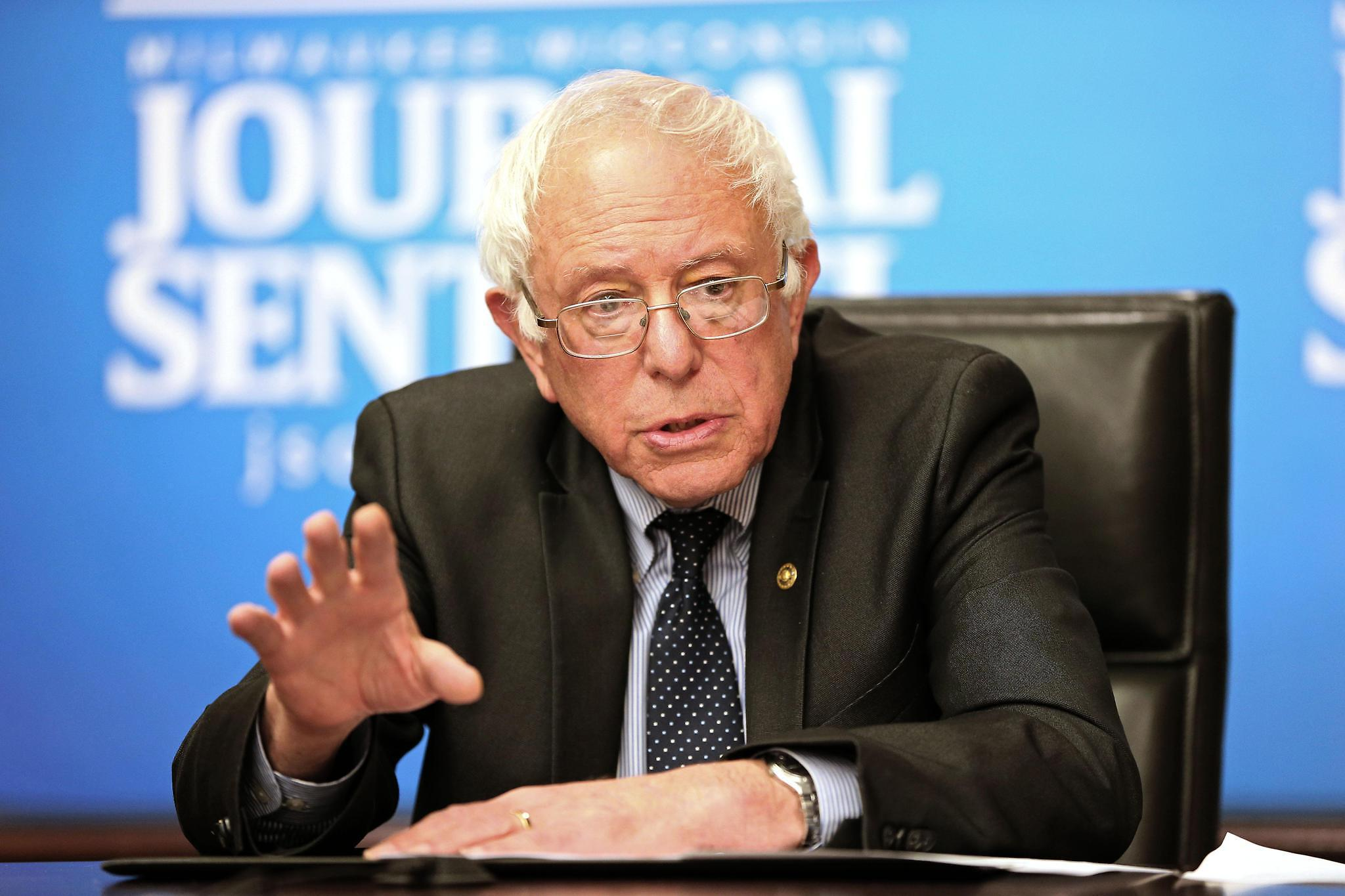 Democratic presidential candidate Bernie Sanders gained a lot of page views with a claim about inequality. (Milwaukee Journal Sentinel)