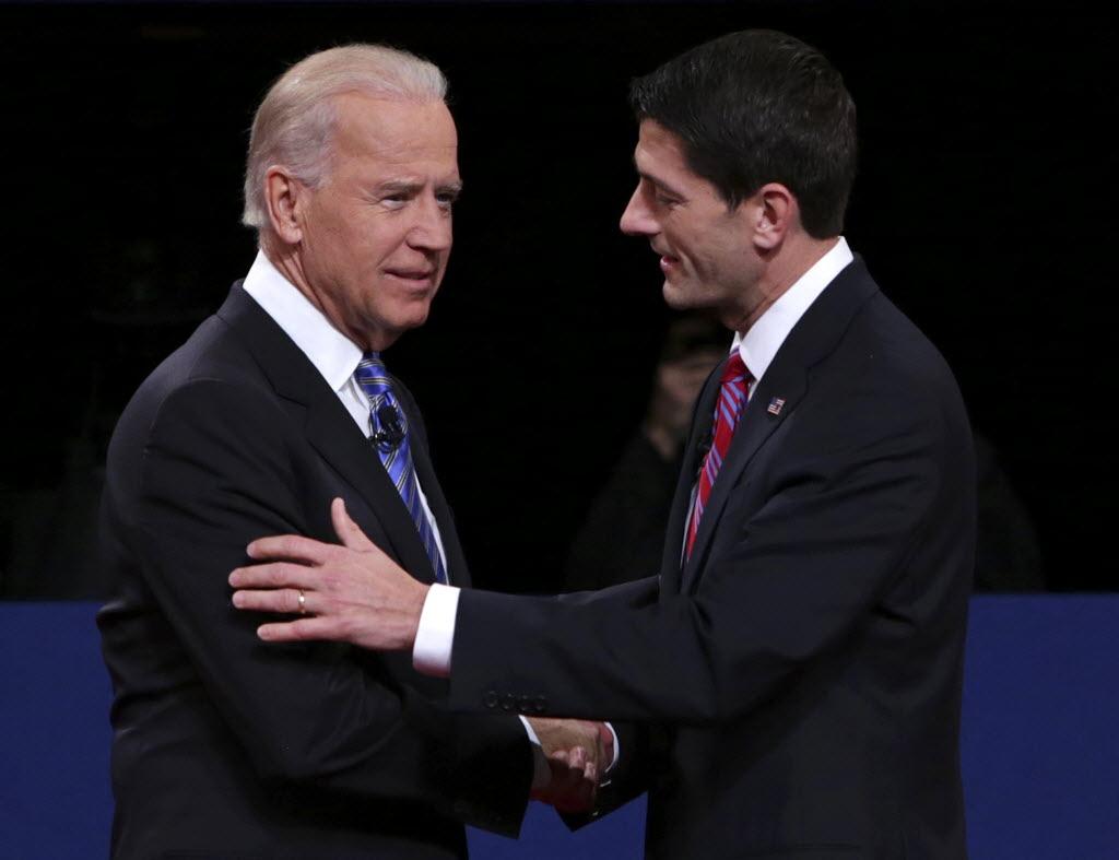 Vice President Joe Biden and Republican challenger Paul Ryan squared off in the vice presidential debate.