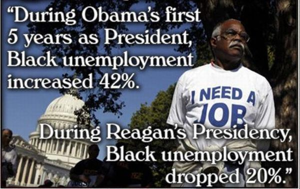 Was Ronald Reagans Record On Black Unemployment Better Than Barack