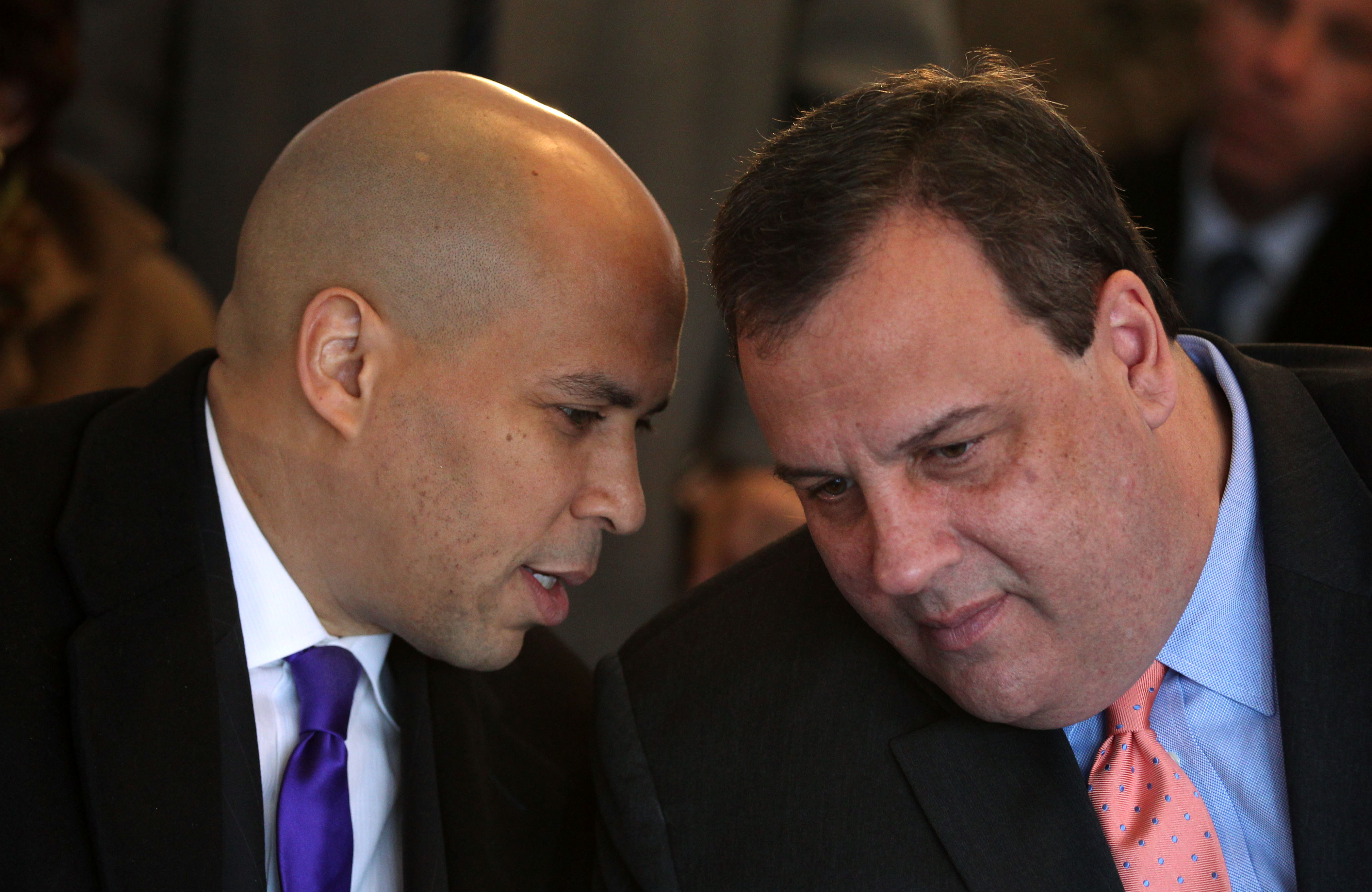 Cory Booker will not challenge Gov. Chris Christie for his office in 2013.