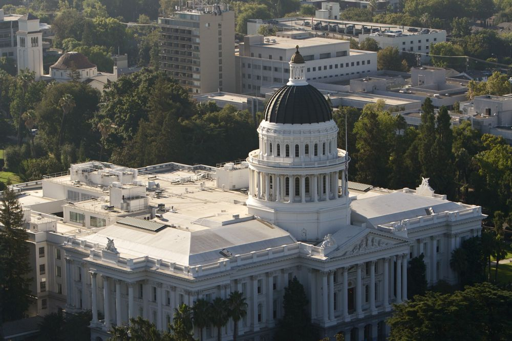 California's State Capitol in Sacramento attracts roughly 1.1 million visitors inside and outside the building annually. File photo / Capital Public Radio