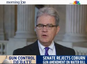 "Sen. Tom Coburn, R-Okla., said on MSNBC's ""Morning Joe"" that violent crimes in national parks fell 85 percent after a gun ban was lifted in 2010. Is that correct?"