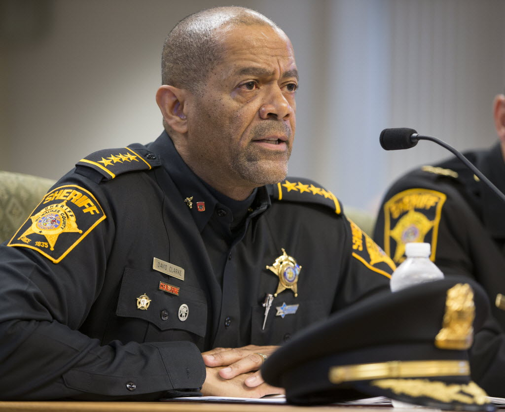 Image result for sheriff david clarke
