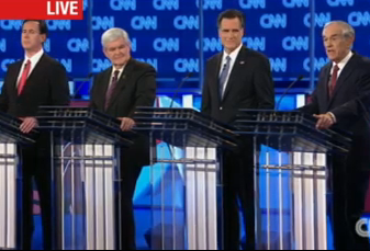 The Republican candidates debated Thursday night in Jacksonville.