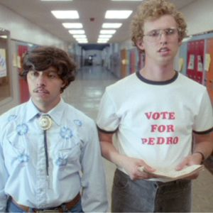 Sadly, unlike Napoleon Dynamite, Georgians cannot vote for Pedro