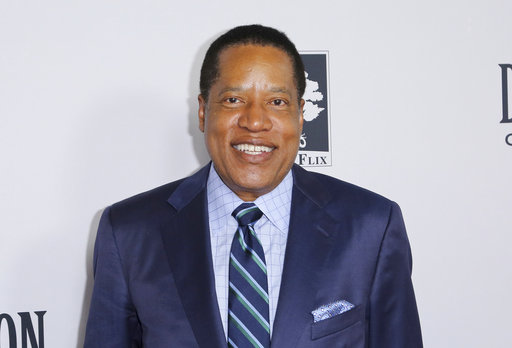 "Larry Elder at the LA Premiere of ""Death of a Nation"" on Tuesday, July 31, 2018, in Los Angeles. (Sanjuan/AP)"