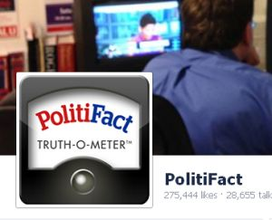 Readers have been busy recently commenting at PolitiFact's Facebook page.