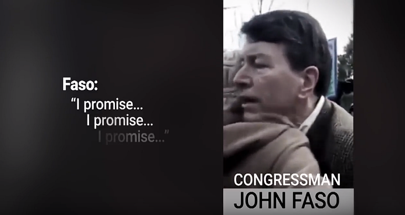 U.S. Rep. John Faso of New York promised to protect a constituent's health coverage.