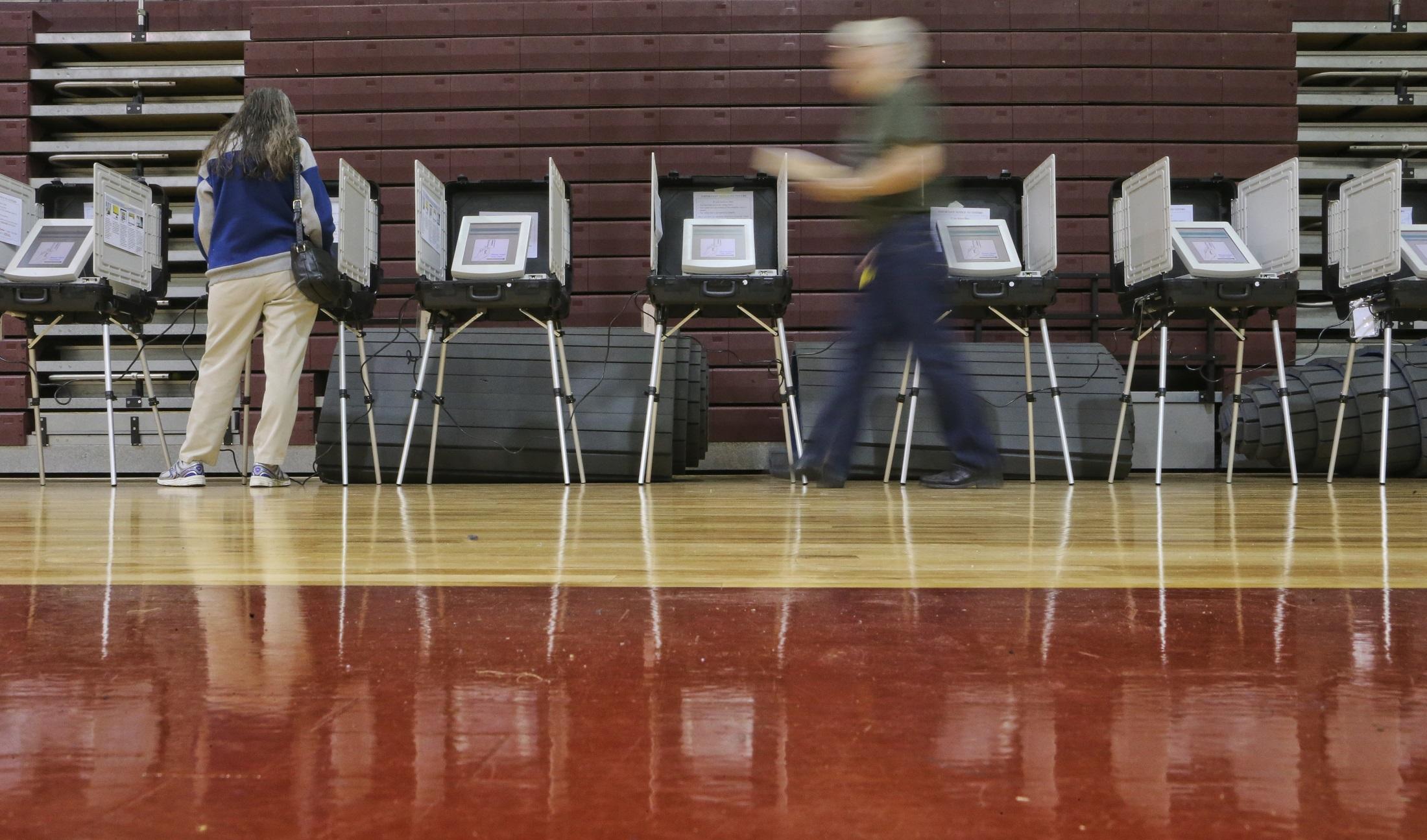 Election Day in Georgia (AJC staff photo)