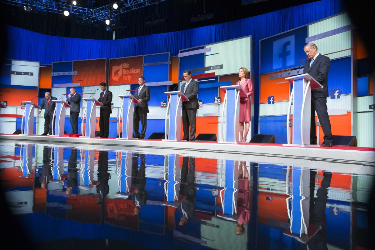 Fact-checking the early Fox News presidential debate