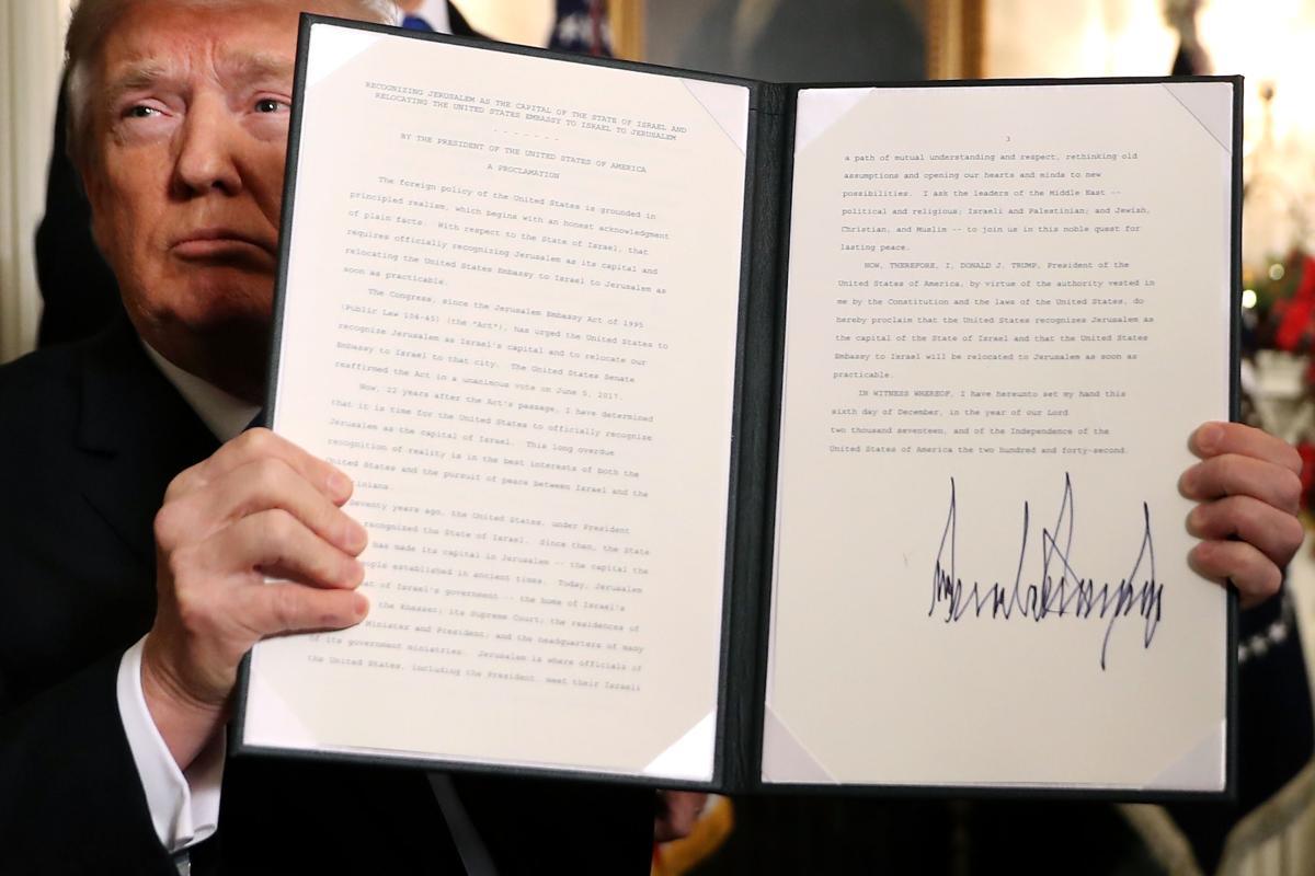 Trump-O-Meter: Move U S  Embassy in Tel Aviv to Jerusalem