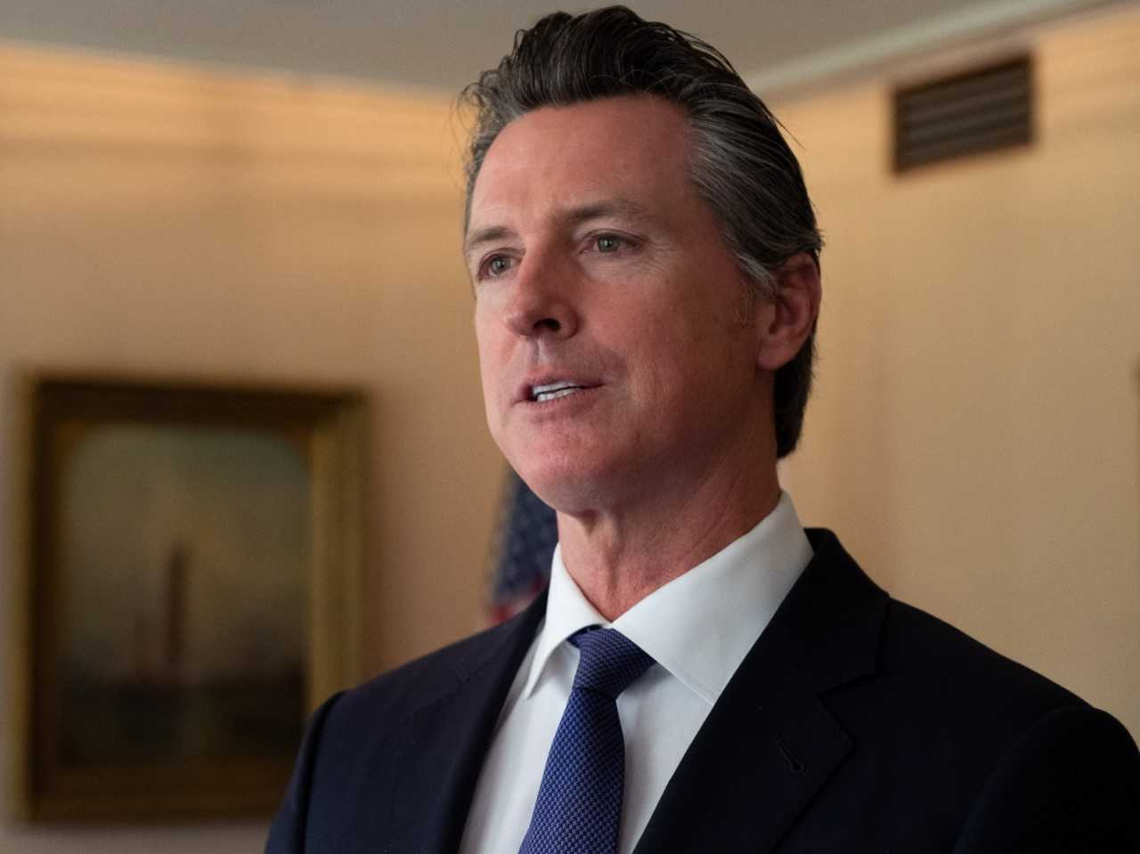 Democratic California Gov. Gavin Newsom in April 2019 / Capital Public Radio