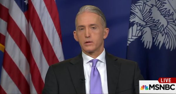 "Rep. Trey Gowdy, R-S.C., was asked about Hillary Clinton emails during an appearance on MSNBC's ""Morning Joe"" on Oct. 31, 2016."