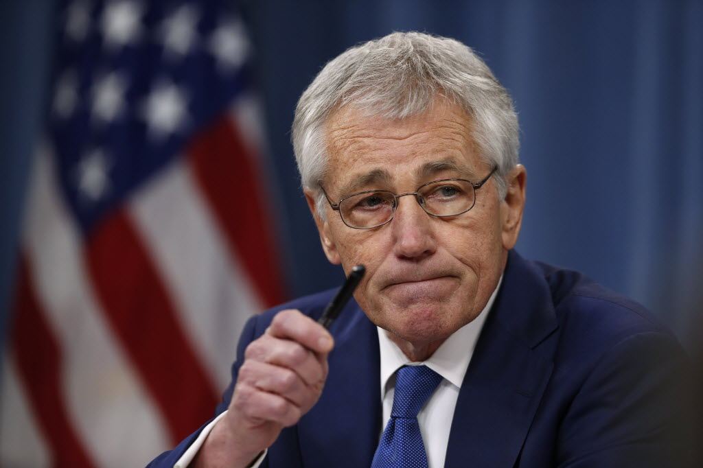 Confirmation hearings for Chuck Hagel are set to begin Thursday. (AP Photo)