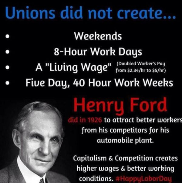 Does The 8 Hour Day And The 40 Hour Week Come From Henry Ford Or
