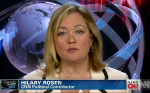 """Democratic strategist and CNN political contributor Hilary Rosen has apologized for saying Ann Romney """"never worked a day in her life."""""""