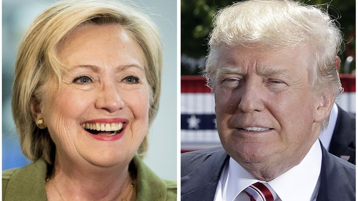 """Reflecting on the 2016 presidential campaign and Donald Trump's """"Make America Great Again"""" slogan, Hillary Clinton made a comment about """"backwards."""""""