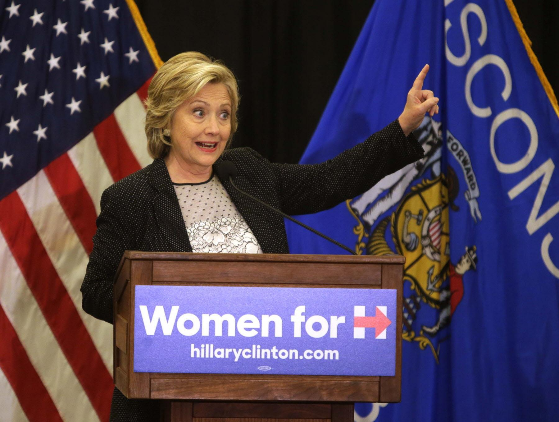 Hillary Clinton calls Wisconsin's photo ID law voter suppression. The 2016 presidential contest, in which Clinton lost to Donald Trump, was the first time the law was in effect for a presidential election in Wisconsin. (Milwaukee Journal Sentinel)