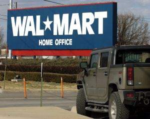 The Walmart home office in Bentonville, Ark. (AP photo)