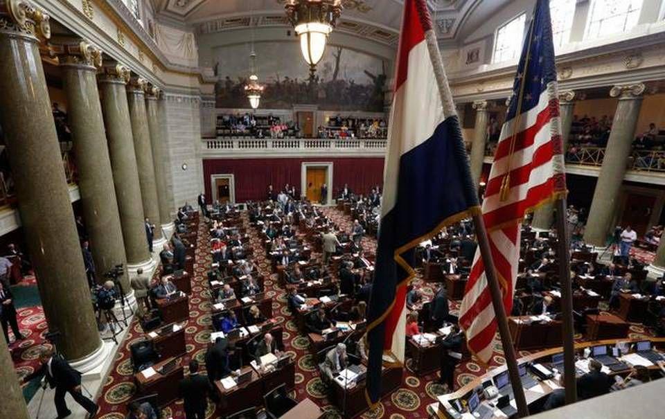 The Missouri Capitol in Jefferson City. (AP)