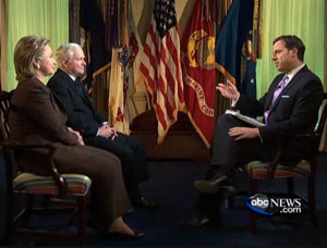 'This Week' host Jake Tapper interviewed Defense Secretary Robert Gates and Secretary of State Hillary Clinton.