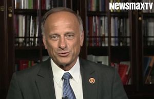 U.S. Rep. Steve King, R-Iowa, gave an interview on immigration to Newsmax.