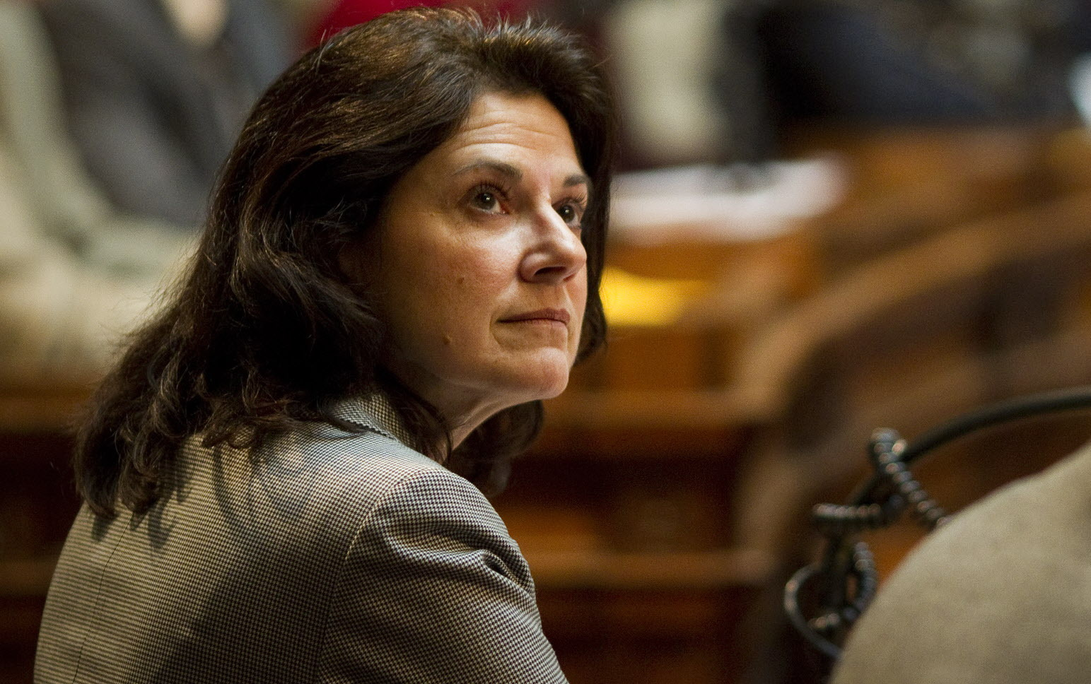 State Sen. Leah Vukmir, a suburban Milwaukee Republican, has taken steps toward making a run for Baldwin's seat. (Milwaukee Journal Sentinel)