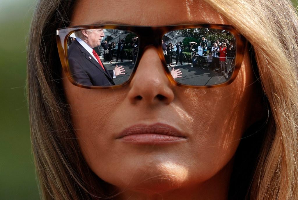 First Lady Melania Trump. (AP)