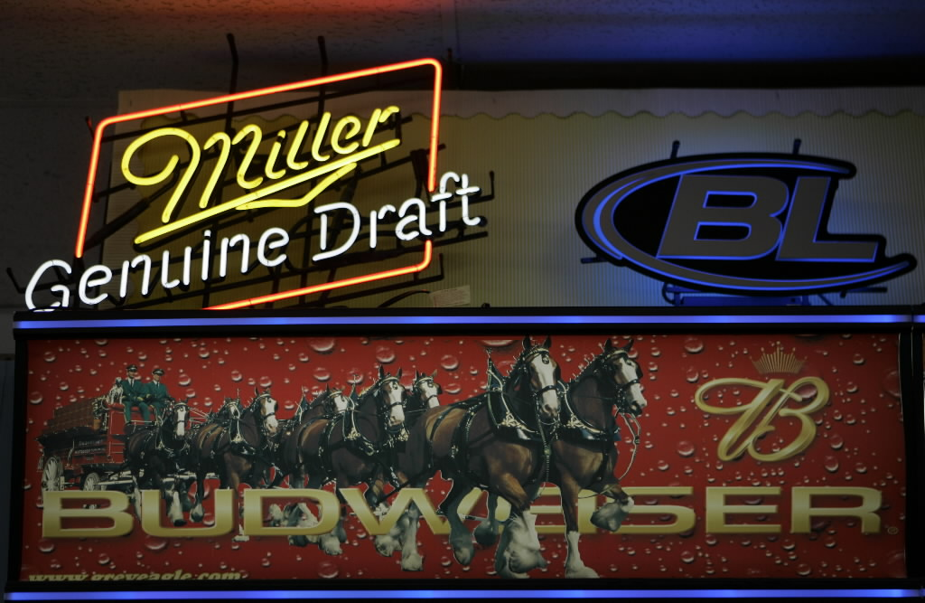 No, Miller and Anheuser-Busch aren't American companies any more. (AP photo)