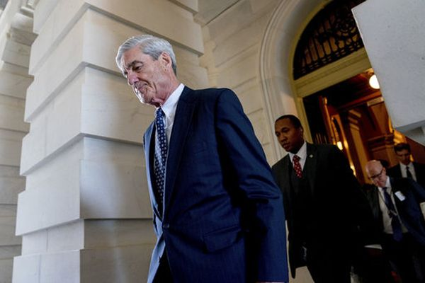 Special Counsel Robert Mueller leaves the U.S. Capitol on June 21, 2017. (AP/Andrew Harnik)