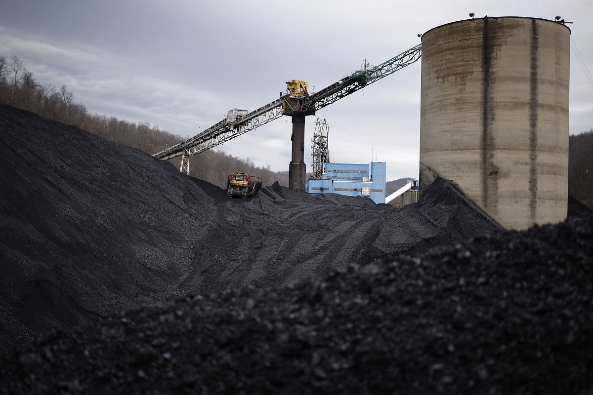 Mounds of unsold coal near Fairview, W.Va., April 11, 2016. The $1.5 trillion tax bill barreling toward President Donald Trump's desk is overwhelmingly a big win for corporations, but not every business benefits equally. (Luke Sharrett/The New York Times)
