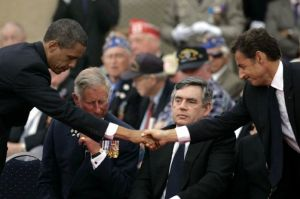 Chain Email Falsely Claims Obama Is Only President Not To Visit D Day Monument