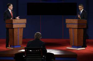 Barack Obama and Mitt Romney debated in Denver on Oct. 3, 2012
