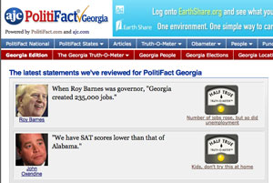 PolitiFact Georgia is our third state site -- and there are more in the works.