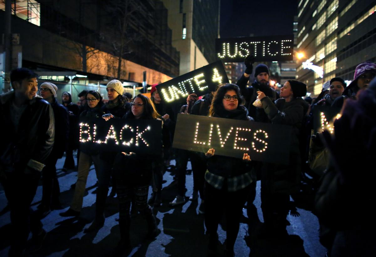 Protests erupted across the country after grand jury verdicts in police killings of Eric Garner in New York and Michael Brown in Ferguson, Mo.