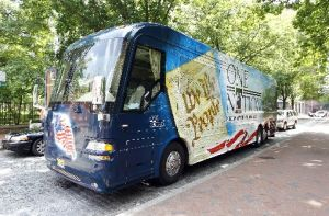 Former GOP vice presidential candidate Sarah Palin's bus tour touched off speculation she was running for the top job.