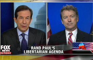 "U.S. Sen. Rand Paul, R-Ky., answers questions on ""Fox News Sunday"" on March 9, 2014."