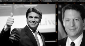 "A new ad from Ron Paul says Rick Perry was Al Gore's ""Texas cheerleader."" We dig into the legend of Perry and Gore and find that while Perry supported Gore, he was not chairman of the campaign, as many have claimed."