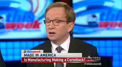 """Steven Rattner appeared on ABC's """"This Week."""""""