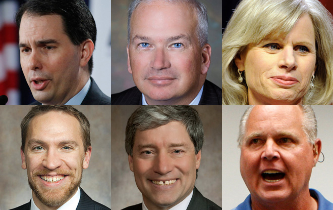 Individuals who were included in a roundup of PolitiFact Wisconsin's first 1,000 items