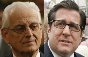 Democratic Congressmen Bill Pascrell, left, and Steve Rothman are facing off in today's primary for the 9th Congressional District in northern New Jersey.