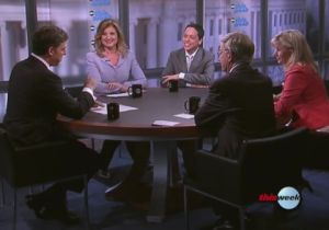 """Arianna Huffington and Liz Cheney sparred on the roundtable of ABC News' """"This Week."""""""