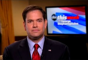 U.S. Sen. Marco Rubio went on the Sunday shows on April 14, 2013,to discuss the immigration proposal he supports.