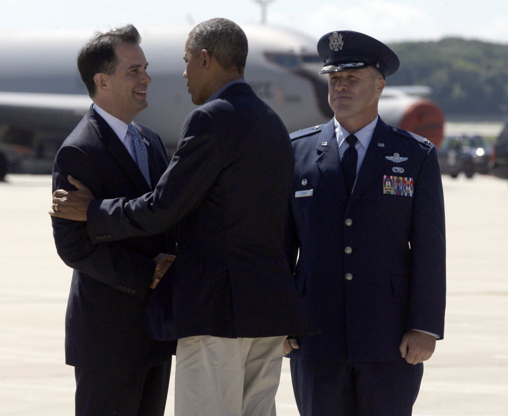 A claim made by Gov. Scott Walker about President Barack Obama was our most-clicked item in May 2015.