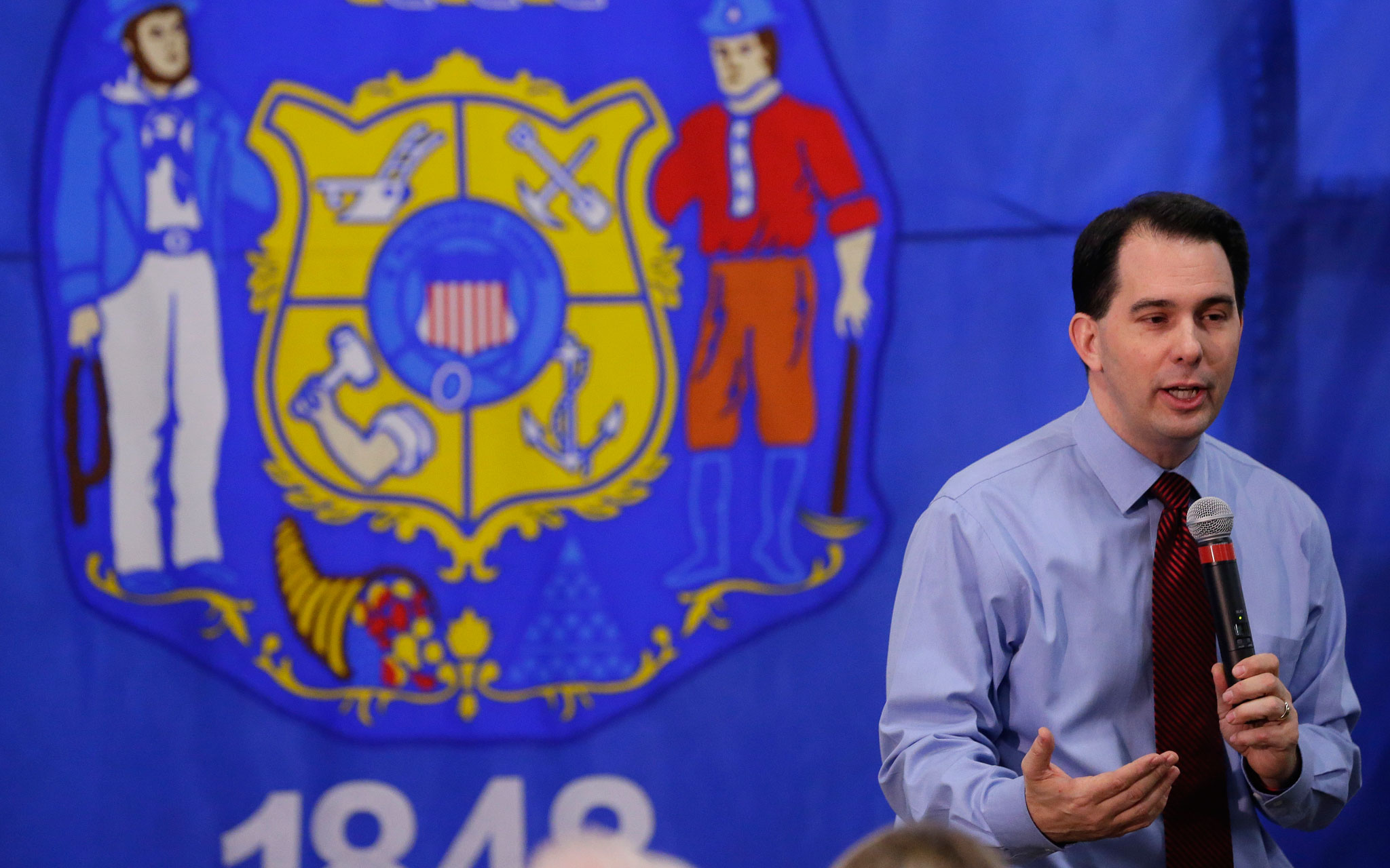 Gov. Scott Walker, now campaigning for a third term, missed on two education promises he made during his 2014 campaign for a second term. (Milwaukee Journal Sentinel)