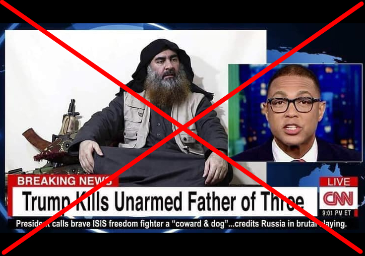 Politifact - CNN did not call Abu Bakr al-Baghdadi an 'unarmed father of three'